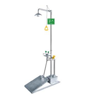 脚踏式洗眼器WJH0758